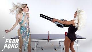 Drag Queens Play Fear Pong (Irene Dubois & Kaleena) | Fear Pong | Cut