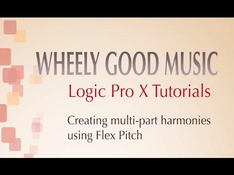 Logic Pro X - Vocal Harmonies Using Flex Pitch