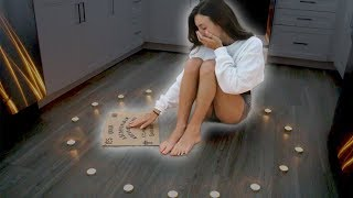 PLAYING THE OUIJA BOARD BY MYSELF