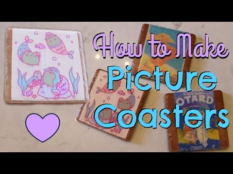 How to Make Picture Coasters