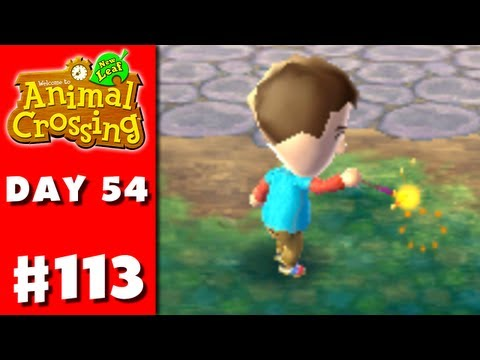 Animal Crossing: New Leaf - Part 113 - Sparkler (Nintendo 3DS Gameplay Walkthrough Day 54)