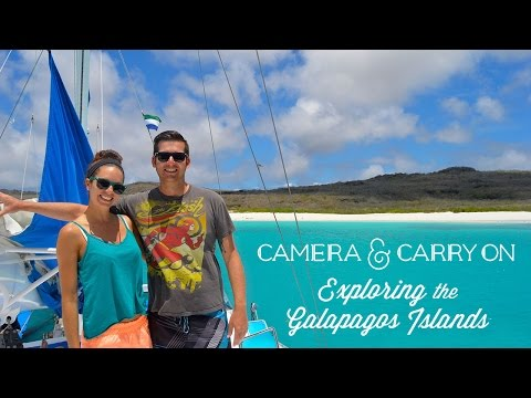 Exploring the Galapagos Islands with Camera & Carry On