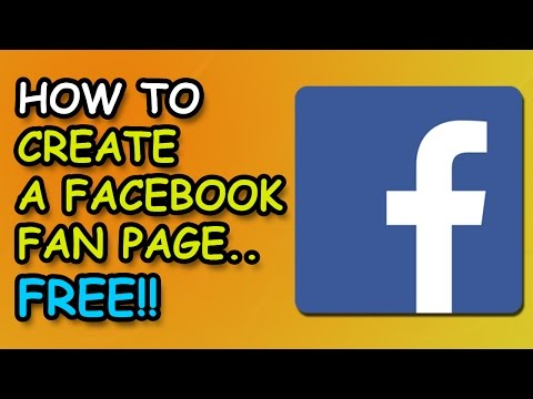 How to Create A Facebook Fan Page 2017