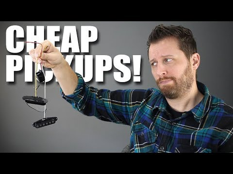 Cheap vs Expensive Guitar Pickups! - Can You Hear The Difference?