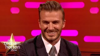 David Beckham Is Embarrassed At Being The SEXIEST MAN ALIVE   The Graham Norton Show