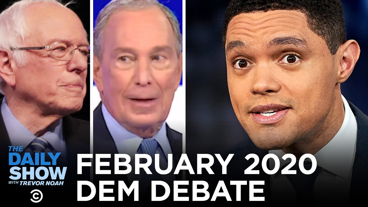 February 2020 Democratic Debate in South Carolina | The Daily Show