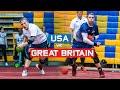 USA Vs Great Britain Match Highlights 2019 Dodgeball World Championships Day 2