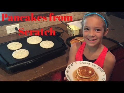 EmmaLee's Homemade Pancakes and Syrup Recipe