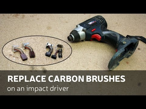 DIY: Replace Carbon Brushes On An Impact Driver