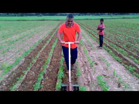 Easy make  Inter cultivator for vegetable and weed control ,