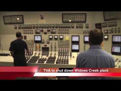 TVA closing Widows Creek coal plant in Alabama