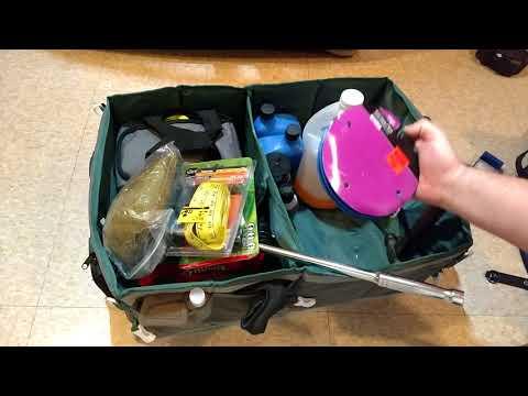 MY EDC / Emergency car trunk supply organizer