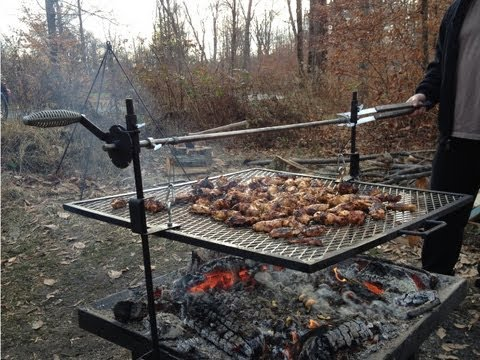 The Original RebelPit - Fire Pit, Grill, Rotisserie, Spit.