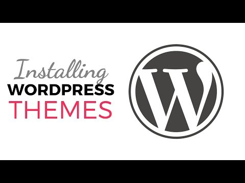 WordPress Beginner Tutorials - Installing WordPress Themes