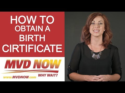 How To Obtain A Birth Cirtificate - Requirements