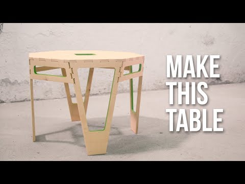 How to make an AWESOME box jointed TABLE with the new X-Carve + review