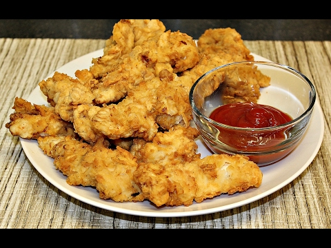 Easy homemade Buttermilk Chicken Tenders!