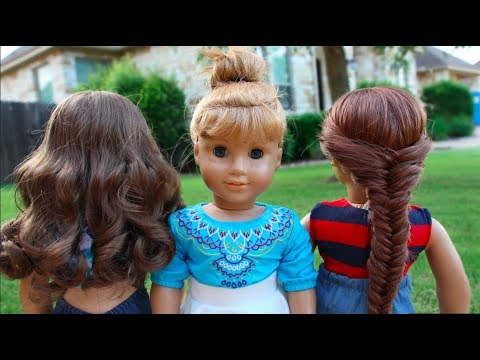 3 Simple Must-Know Hairstyles for American Girl Dolls