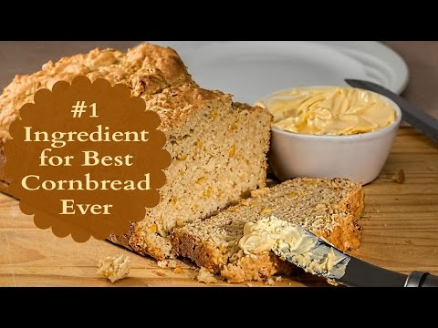 #1 Ingredient for Best Cornbread Recipe Ever