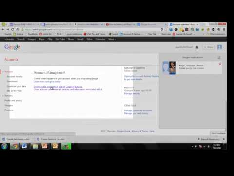 How to Delete Your Google Account in Chrome or Only the Google+ Profile (7/2013)