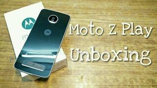 Moto Z Play Unboxing!😱 (Indian Unit). Moto mods explained...
