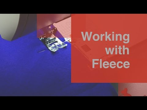 How to Sew Fleece: Tips and Tricks