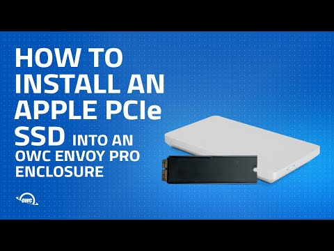 How to Install an Apple PCIe SSD into an OWC Envoy Pro Enclosure
