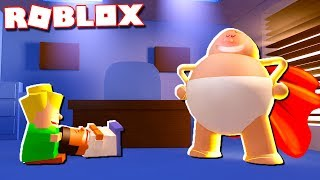 TRANSFORMING INTO CAPTAIN UNDERPANTS IN ROBLOX!
