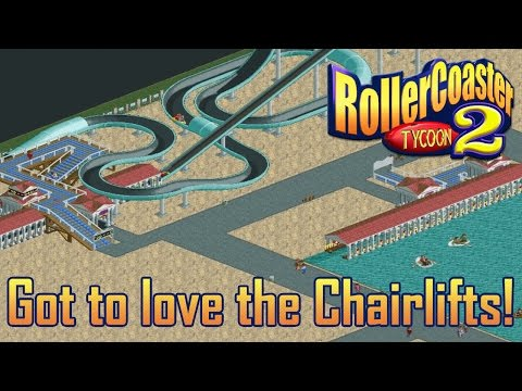 RollerCoaster Tycoon 2 #8 || Got to love the chairlifts!