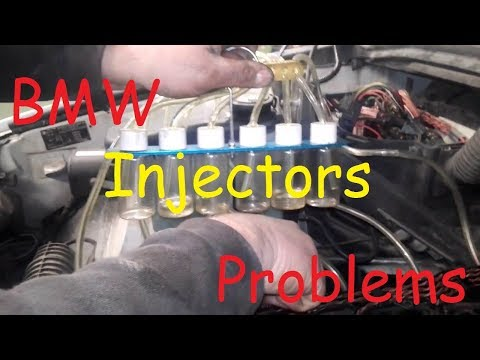 BMW X5 3.0 Diesel Injectors Problems / BMW Diesel Injector Leak Test