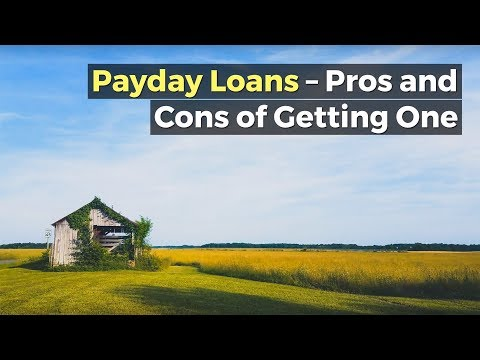 Payday Loans – Pros and Cons of Getting One