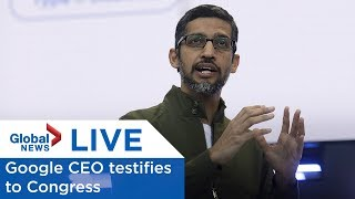 LIVE: Google CEO testifies to Congress on user data privacy