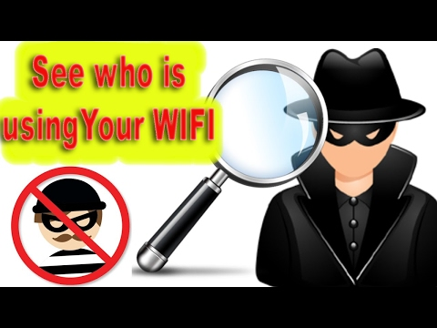 How To: know who is stealing your Wi-Fi in 1 minute?