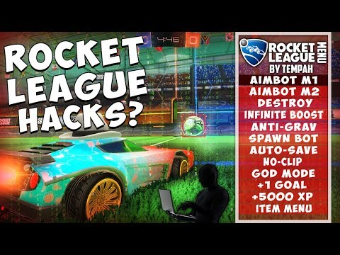 ARE THERE HACKS ON ROCKET LEAGUE? ROCKET LEAGUE HACKERS USING AIMBOT WITH ROCKET LEAGUE MOD MENU?
