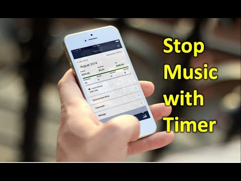 How to Stop Music with Timer in Iphone