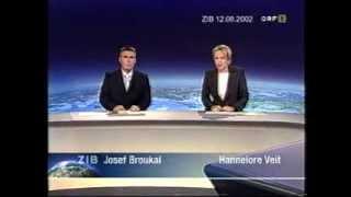 Hochwasser 2002 - ORF ZIB 12.08.2002