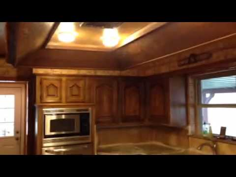 Stained Wood Panel Wall Match