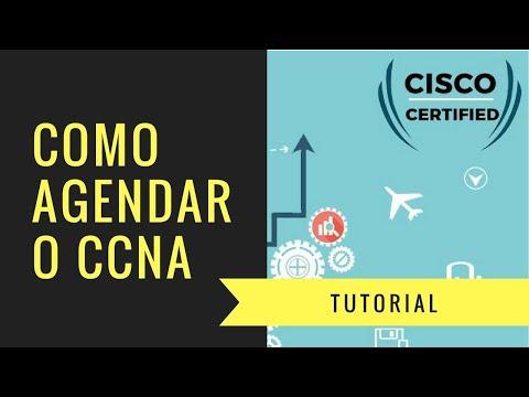 Como Agendar Prova da Cisco - CCNA CCENT CCNP