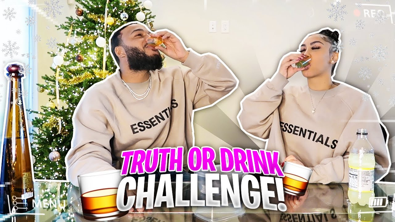 TRUTH OR DRINK CHALLENGE..IT GOT LIT (VLOGMAS DAY 17)