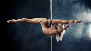 Oona Kivela Training for Workout & Pole Dancing!