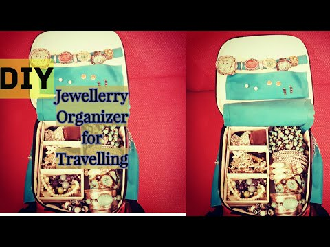 DIY - Jewellerry Organizer Bag👜 for Travelling✈✈