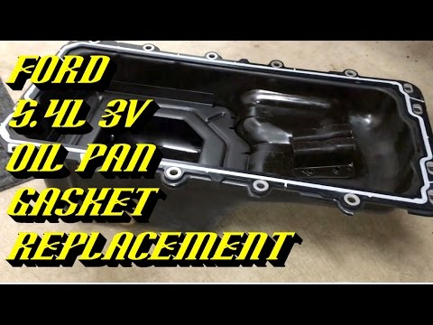 2004-2014 Ford F-150 & Expedition 5.4L 3v: Engine Oil Pan Gasket Replacement