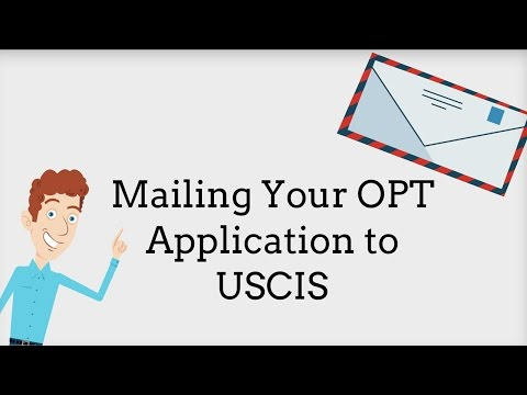 [UPDATED] OPT: Mailing your Application to USCIS 4/9