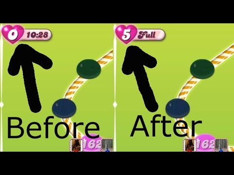 unlimited lives candy crush jelly/soda/saga without changing time- learning is better