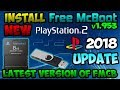 [PS2] Install the latest version of FreeMcBoot [2018]