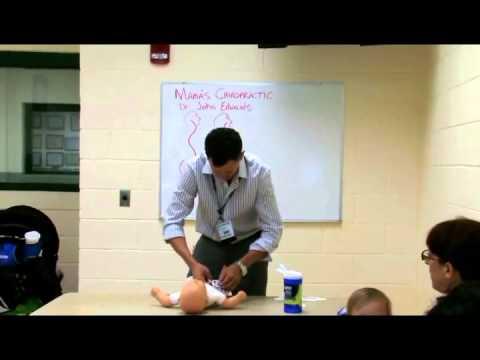 Diaper change technique to reduce colic