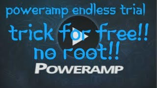 How to install Poweramp Full Version for free 100% Working Something