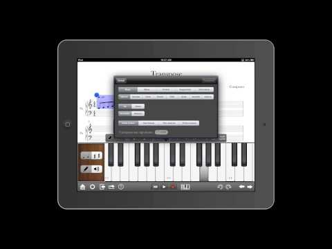 Notion for iPad: Transpose