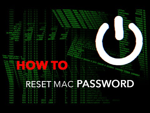 HOW TO ENTER A MAC WITHOUT KNOWING THE PASSWORD