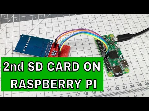 How To Add Second SD Card To Raspberry Pi Zero